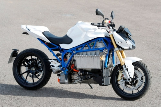 E-Power-Roadster Prototype: BMW electric motorcycle